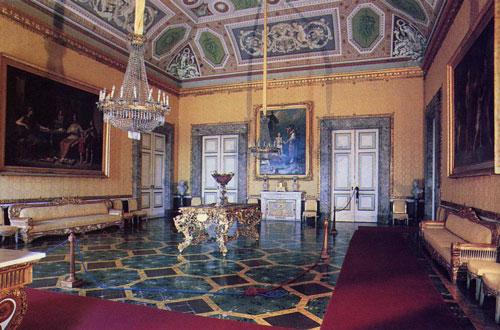 lampadari caserta : Alla Corte di Versailles ~ Palazzi ~ Reggia di Caserta ~ Sala del ...