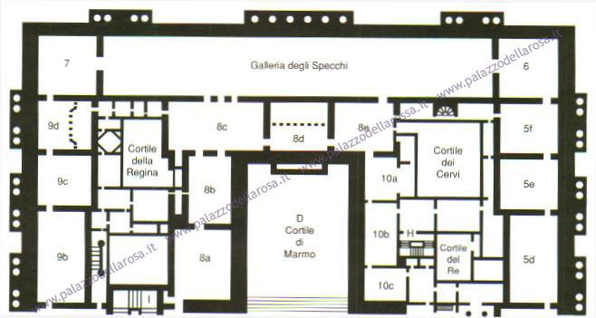 Alla corte di versailles reggia di versailles edificio for Planimetrie con stanze segrete